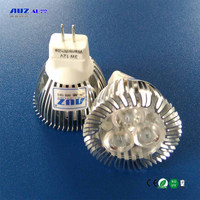 Factory direct sell Dimmable Sanan Chip MR11 12V 3W G4 LED Spotlight 3w led mr11