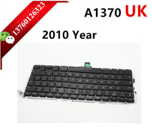 "UK NEW US Version keyboard For Macbook Air 11"" A1465 A1370 replacement keyboard 2010 Year A1370 keyboard"