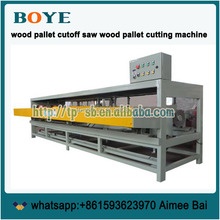 Siding saw table saw cut machine for wood pallet sawdust block machine