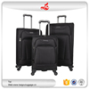 "2016 hot selling 3 piece carry on trolley 20""24""28"" branded bags nylon high end luggage"