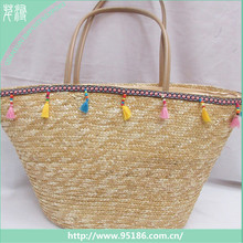 HB-132420 QianXun new style unique handmade 2017 lady handbag