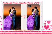 Customized Phone Cases for iPhone 4/4s/5, Custom Printing Mobile Phone Cases Phone Covers