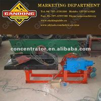 Small size gold mining shaking table laboratory shaking table