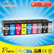9 Color Compatible pigment Ink Inkjet Cartridge T8501 - T8509 for ep printer SC-P800