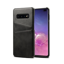 Wholesale Back Cover Card Slot Wallet Leather Phone Case For Samsung Galaxy S10 plus