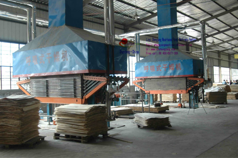 core veneer dryer/hot press veneer dryer/breathing dryer