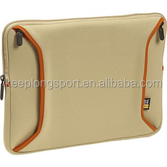 functional business laptop sleeve, several extra pockets for computer accessaries, factory price
