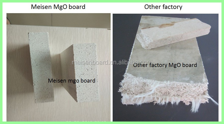 Non flammable mgo floor panel
