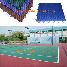 Multi-purpose Easy-install Plastic Basketball Court Sports Flooring