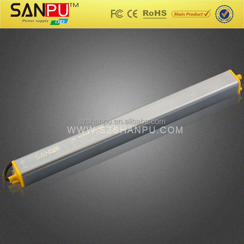 ip67 aluminum waterproof 70w led driver for led strip light with CE ROHS