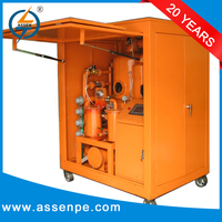 High Performance Double Stage oil purifier system/oil cleaning centrifuge