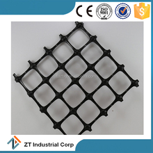 plastic biaxial geogrid gravel grid