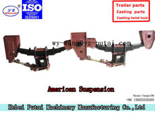 semi-trailer suspension assembly truck suspension