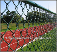 Plastic Chain Link Fence Mesh Extension