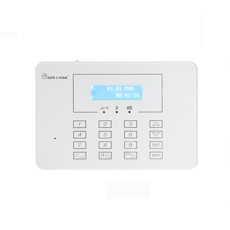 Security Gsm Pstn Dual Network Burglar Alarm System
