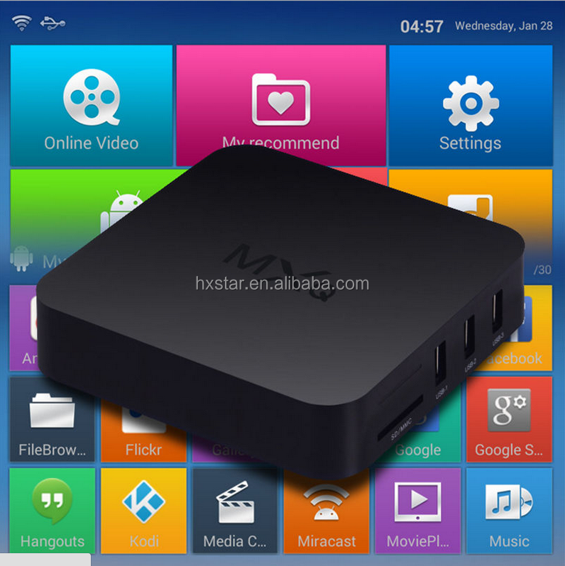 Android tv firmware mxq