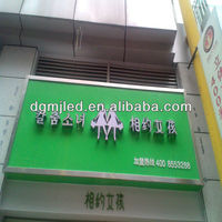 high quality great luminance led letter lighting sign