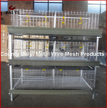 Multi-tier Galvanized Chicken Layer Broilers Cages