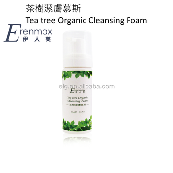 Tea tree Organic Cleansing Foam