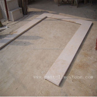 Natural limestone for swimming pool round