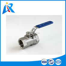 Stainless steel material high working pressure small size ball valve