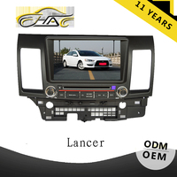 china factory touch screen OEM for mitsubishi lancer 8 inch car dvd player with gps