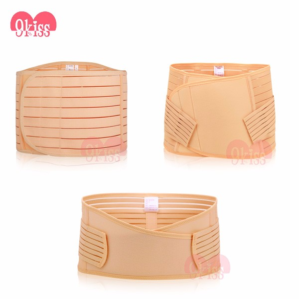 3 in 1 Postpartum Recovery Girdle Elastic Recover Belly/Waist/Pelvis Belt