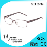 Latest model spectacle metal reading glasses 2014 new fashion eyewear frame
