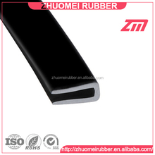 Extruded Glass Protect Rubber U Seal Strip