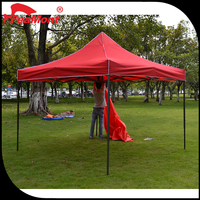 High quality 100% polyester polyethylene tarp / tent fabric / fire proof tent fabric