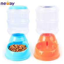 Hot Sales Plastic Pet Feeder Automatic Cat Dog Food Bowls