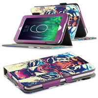 New Arrival Unique Design Leather Folio Flora Printed case Stand Case Cover For Ipad air 2 Ipad 6