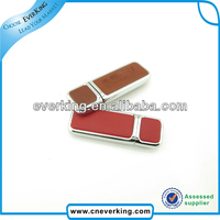 bulk 2gb 4gb 8gb 16gb 32gb leather case usb flash drive with high speed