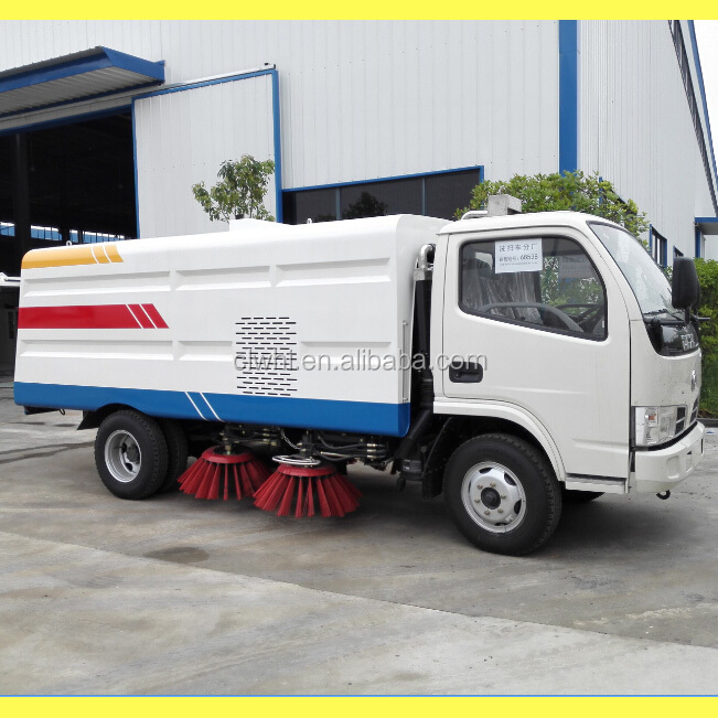 Foton 4*2 Mini Road Sweeper Municipal Sanitation Vehicles Clean Road Truck