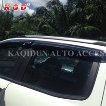 Manufacture price easy installation wind deflectors / rain shield for ford ranger