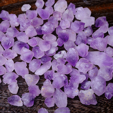 Natural Raw Skeletal Amethyst Gravel Sprite Crystal Tumbled Stone