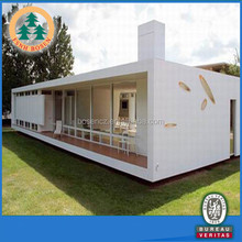earthquake resistance prefab house container