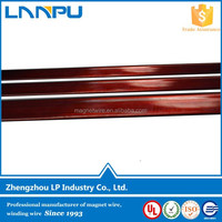 LP Manufacturer Polyesterimide Enameled Fine Wire Polyimide Copper Rectangular Wire