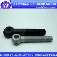 Shanghai manufactory hot sell large eye bolts fastener