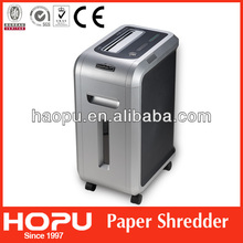 HOPU high quality multi- function cross cut cd and file shredder machine