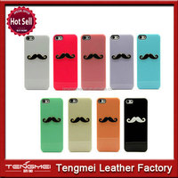 New High Glossy 3D Moustache Hard Case Cover For iPhone 4/4s/5