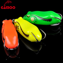 Hollow Body Rubber 6.1cm 10g Vmc Double Hooks Fishing Lures Crankbaits Blank Lures