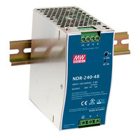 [ Powernex ] Mean Well NDR-240-48 240W 48V 5A Single Output Industrial DIN RAIL Switching Power Supply