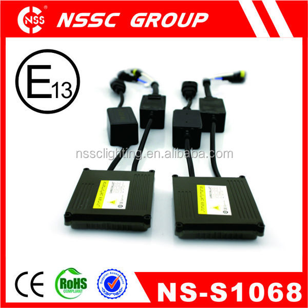 Car fittings upgrade hid electronic ballast,slim ballast motorcycle hid kits,hid ballast 12v 55w