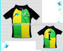 Sublimation custom made English Rugby Jersey without button