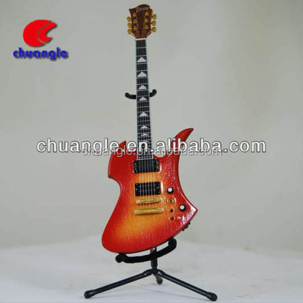 Guitar Model, Guitar Miniatures, PU Musical Instrument Toys