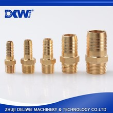High quality hydraulic 6mm brass hose fitting Stainless steel barb fitting