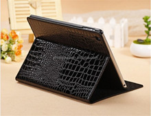 Luxury Fashion Retina Display Slim Crocodile Leather Case for iPad Mini 1/2