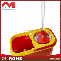 good quality spin mop with CE appoved magic spin mop Hi-quality RoHS certified household cleaning rotary mop with foot pedal