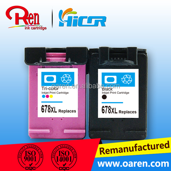 Factory direct selling for hp678xl edible ink cartridge for hp deskjet edible ink printer